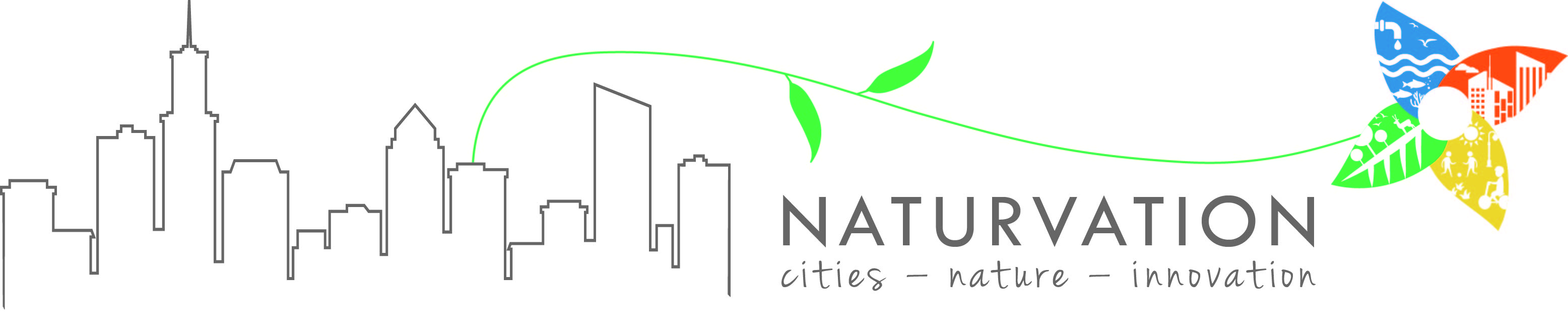 Naturvation_logo w gray city outline
